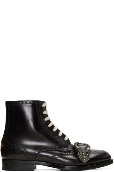 Gucci - Black Queercore Boots
