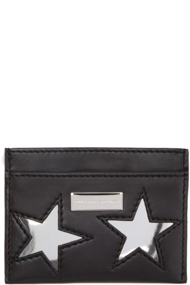 Stella McCartney - Black Star Card Holder