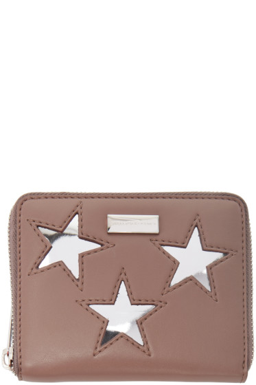 Stella McCartney - Pink Small Star Wallet