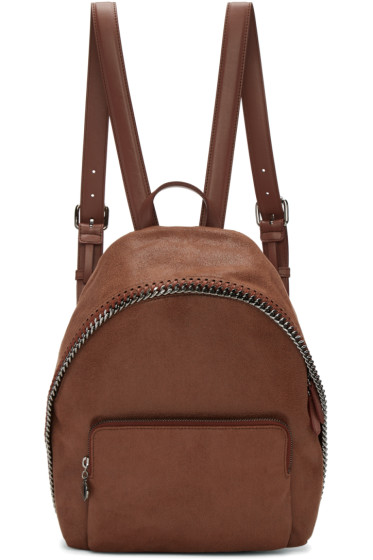 Stella McCartney - Brown Small Falabella Backpack