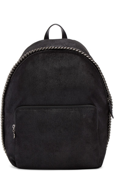 Stella McCartney - Black Falabella Backpack