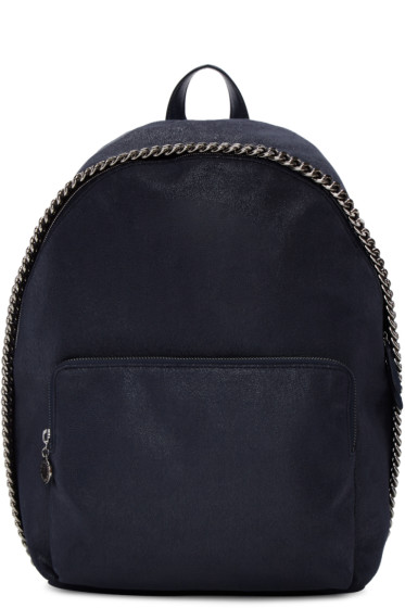 Stella McCartney - Navy Falabella Backpack
