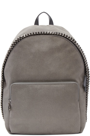 Stella McCartney - Grey Falabella Backpack