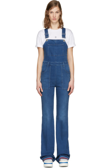 Stella McCartney - Blue Denim Overalls