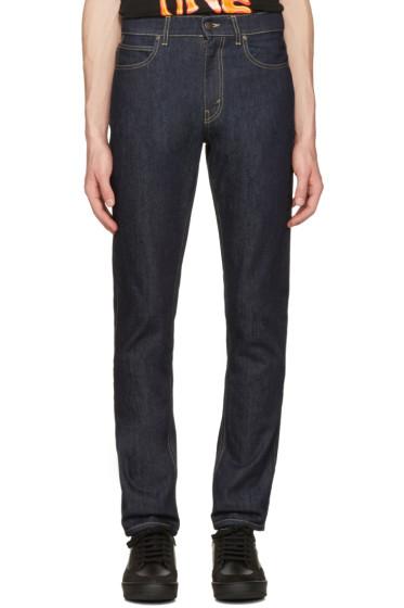 Stella McCartney - Navy Straight Leg Jeans