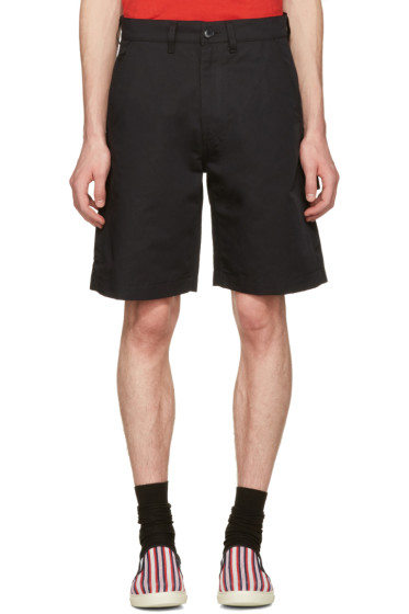 Stella McCartney - Black Twill Shorts