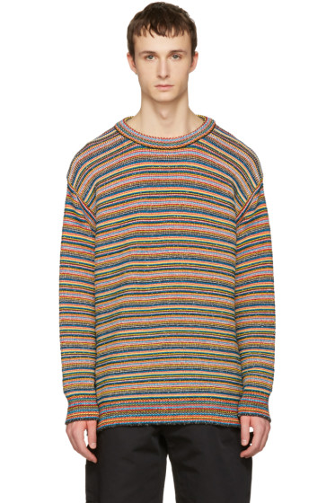 Stella McCartney - Multicolor Knit Striped Sweater