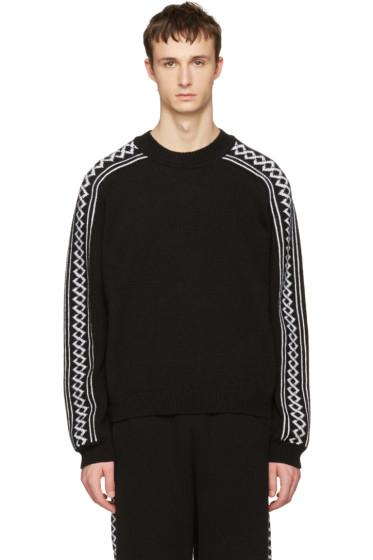 Stella McCartney - Black Rustic Sportswear Pullover