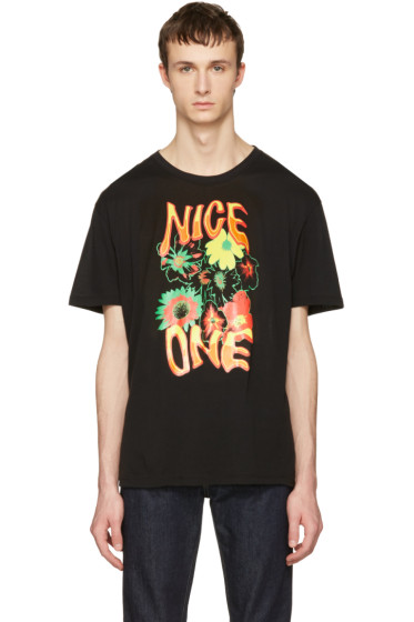 Stella McCartney - Black 'Nice One' T-Shirt