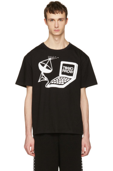 Stella McCartney - Black Tomorrow Computer T-Shirt