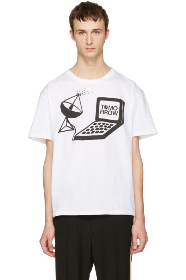 Stella McCartney - White Tomorrow Computer T-Shirt