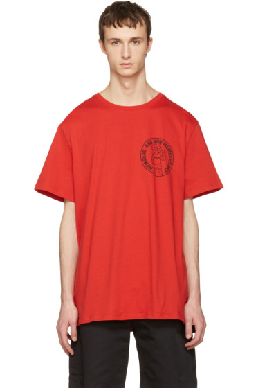 Stella McCartney - Red Logo T-Shirt