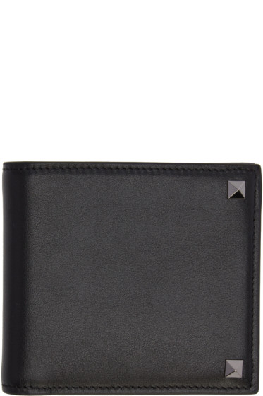 Valentino - Black Big Rockstud Wallet