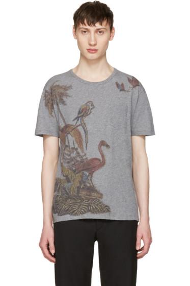 Valentino - Grey Bird T-Shirt