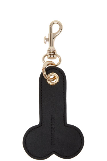J.W.Anderson - Black Penis Keychain
