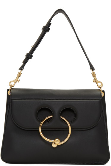 J.W.Anderson - Black Medium Pierce Bag