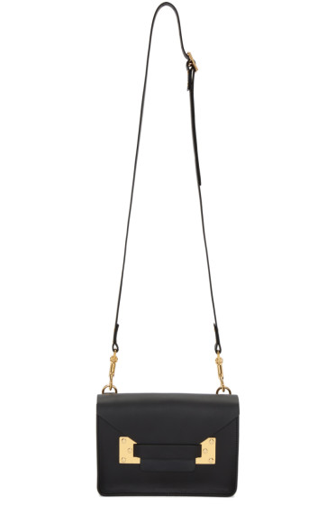 Sophie Hulme - Black Mini Milner Crossbody Bag