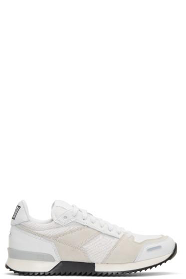 AMI Alexandre Mattiussi - White Running Sneakers
