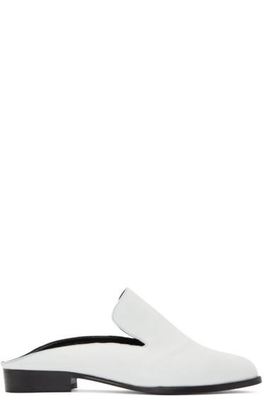 Robert Clergerie - White Alicem Slip-On Loafers