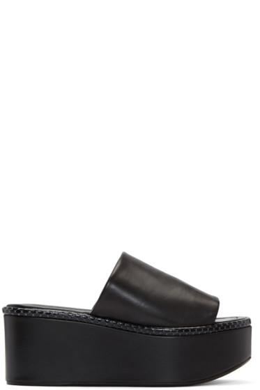 Robert Clergerie - Black Flore Sandals