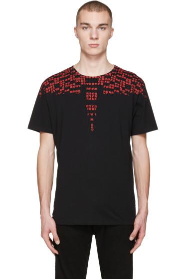 Marcelo Burlon County of Milan - Black Rey T-Shirt