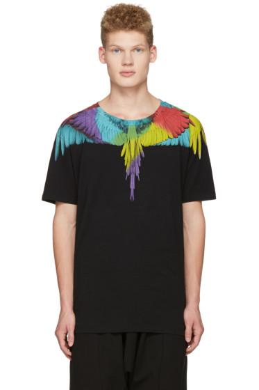 Marcelo Burlon County of Milan - Black Nicolas T-Shirt