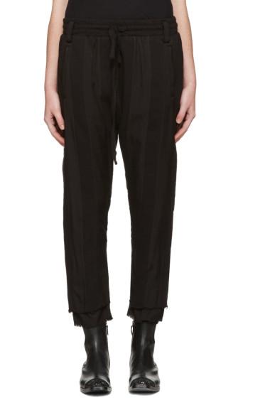 Haider Ackermann - Black Polonium Lounge Pants