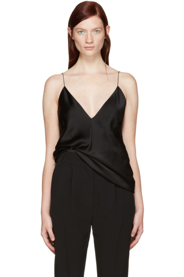 Haider Ackermann - Black Satin Camisole