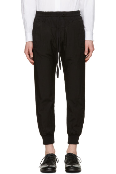 Haider Ackermann - Black Lounge Pants