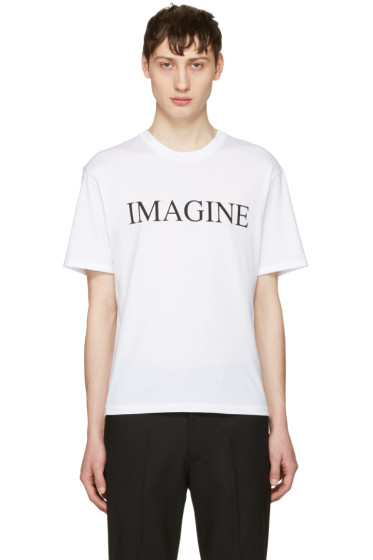 Christian Dada - White 'Imagine' T-Shirt