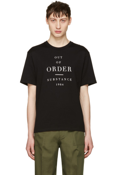 Christian Dada - Black 'Out of Order' T-Shirt