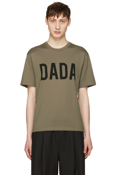 Christian Dada - Green Logo T-Shirt
