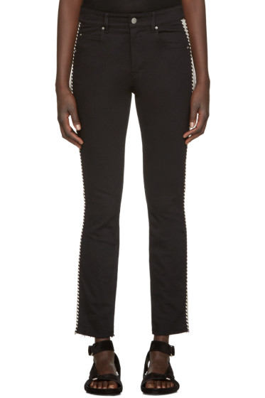 Isabel Marant Etoile - Black Two-Tone Haven Jeans