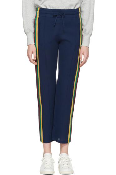 Isabel Marant Etoile - Blue Side Stripe Dobbs Lounge Pants
