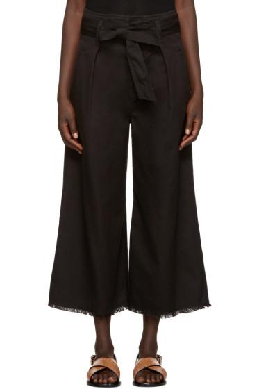 Isabel Marant Etoile - Black Odea Bow Culottes