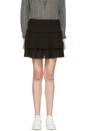 Isabel Marant Etoile - Black Kamelie Miniskirt