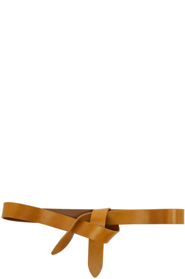 Isabel Marant - Tan Leather Lecce Belt