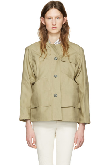 Isabel Marant - Beige Sacha Easy Chic Jacket