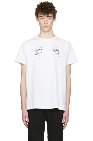 Off-White - White 'Till Death' T-Shirt
