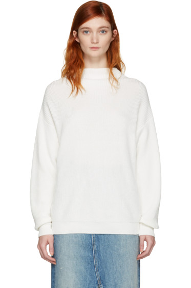 Won Hundred - White Catharine Sweater