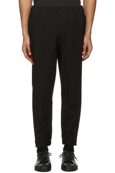 OAMC - Black Mixed Rib Lounge Pants