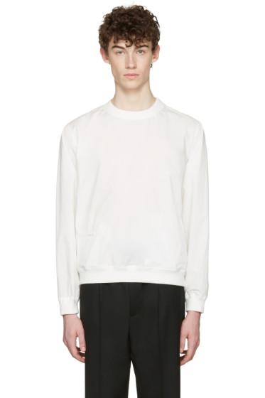 Lemaire - White Poplin Pullover
