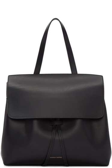 Mansur Gavriel - Black Leather Mini Lady Bag