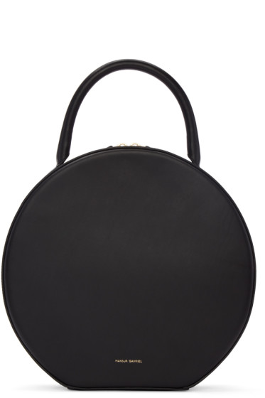 Mansur Gavriel - Black Leather Circle Bag