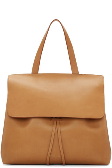 Mansur Gavriel - Tan Leather Lady Bag