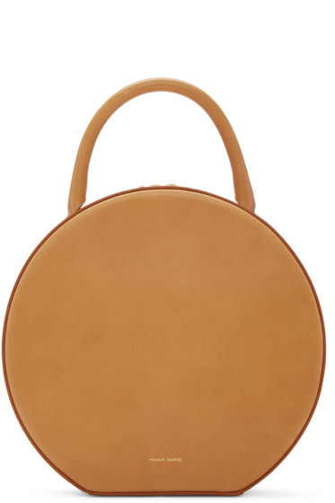 Mansur Gavriel - Tan Leather Circle Bag
