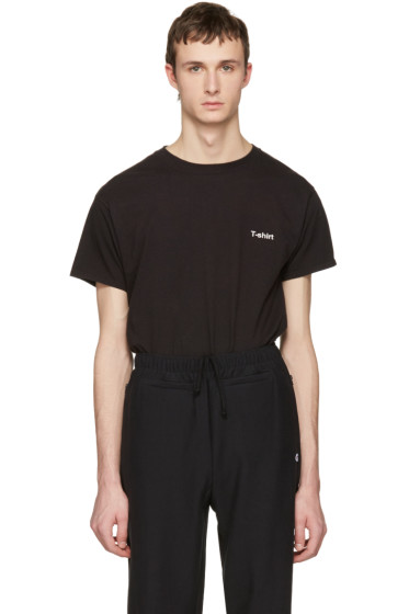 Vetements - Black Hanes Edition Entry Level T-Shirt