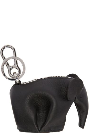 Loewe - Black Elephant Keychain