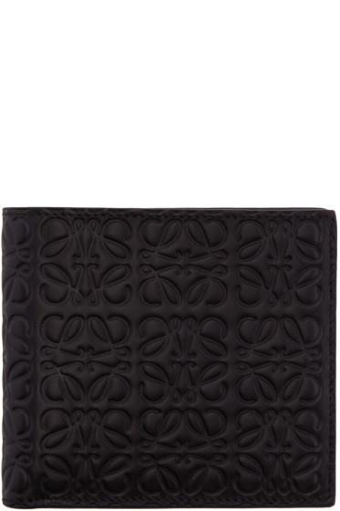 Loewe - Black Anagram Wallet