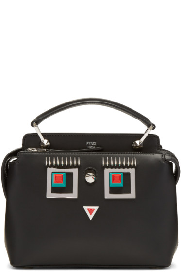 Fendi - Black Square Eye Dotcom Click Bag